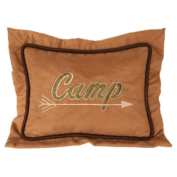 """Camp"" Pillow, 12x16"