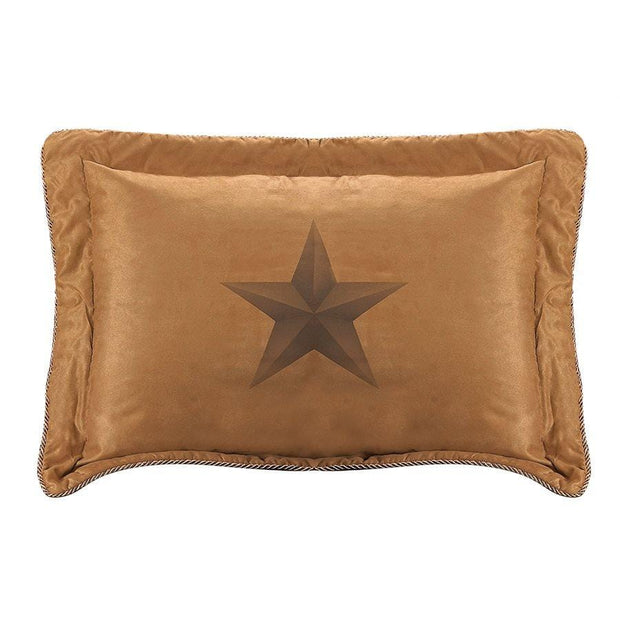 Luxury Star Pillow Sham, 27x21