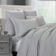 Matelasse Gray Coverlet Set (King/Queen)
