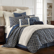 Monterrey 4-PC Duvet Cover Set (King/Queen)