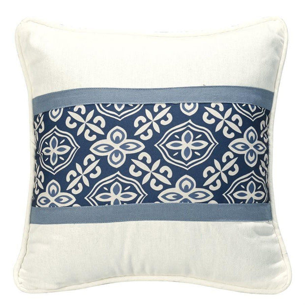 Monterrey Alhambra Decorative Throw Pillow, Blue