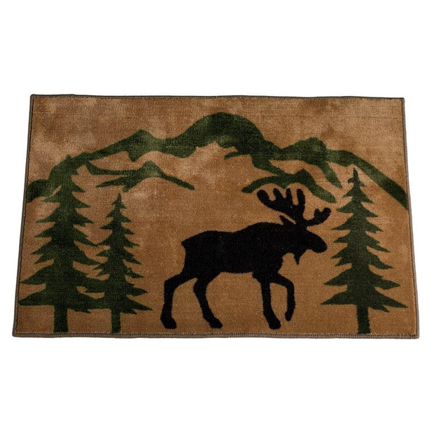 Moose Kitchen/Bath Rug
