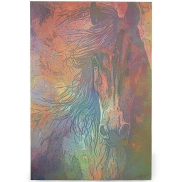 Multi-Color Wild Horse Canvas Western Wall Art