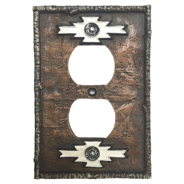 Navajo Single Outlet Cover Wall Plate