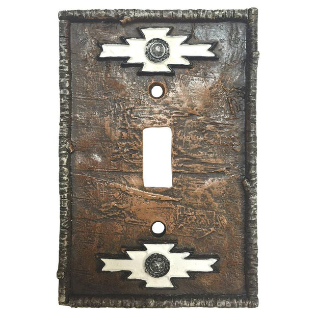 Navajo Single Switch Wall Plate