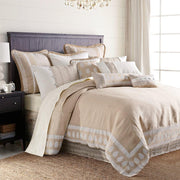Newport 4-PC Duvet Cover Set, Cream