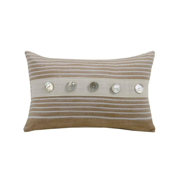 Newport Small Striped Lumbar Pillow