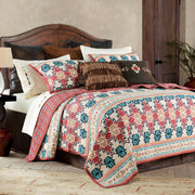 Phoenix 3-PC Quilt Set, Native American Pattern