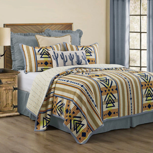 Pontiac Southwestern 3-PC Reversible Quilt Set