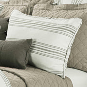 Prescott Striped Pillow Sham - 3 Colors (PAIR)