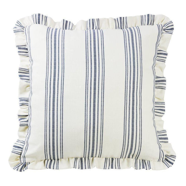 Prescott Striped Euro Sham w/ Ruffle - 2 Colors