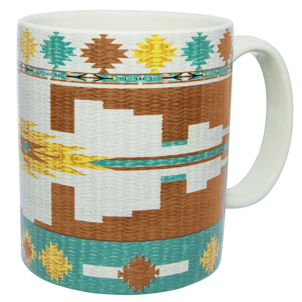 Pueblo Aztec 4-PC Coffee Mug Set