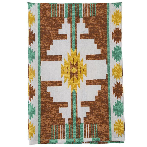 Pueblo Southwestern Print 5-PC Tea Towel Set