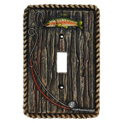 Rainbow Trout Single Switch Wall Plate