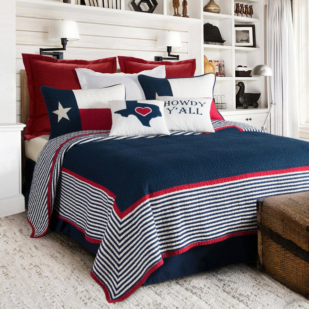 Ranger 2-PC Texas Quilt Set (Twin)