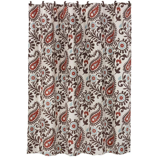 Rebecca Western Paisley Shower Curtain