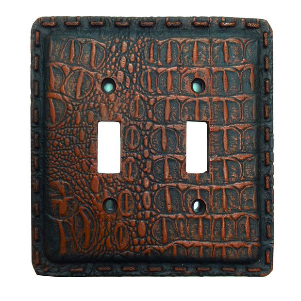 Resin Gator Double Switch Wall Plate