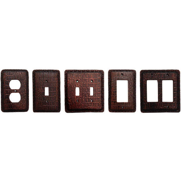 Resin Gator Single Rocker Wall Switch Plate