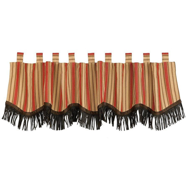 Rock Canyon Valance with Fringe, 84x18