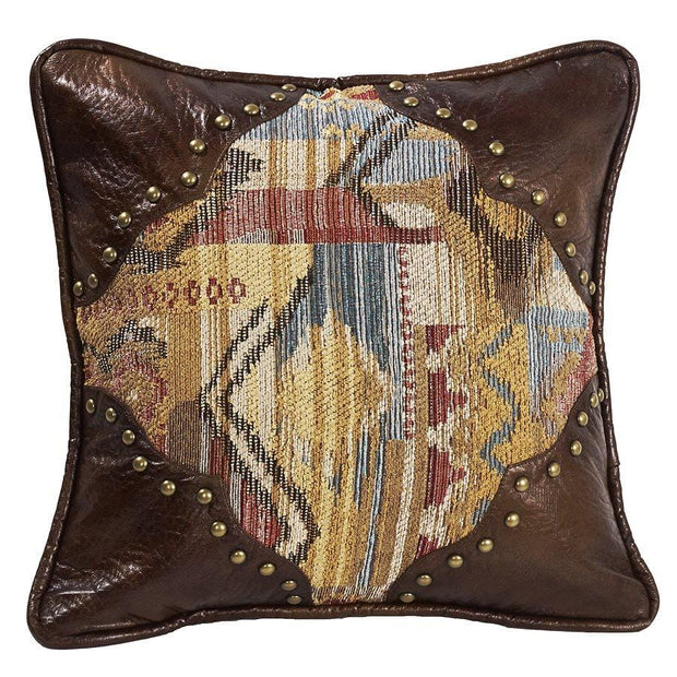 Ruidoso Chenille Accent Pillow w/ Scalloped Corners