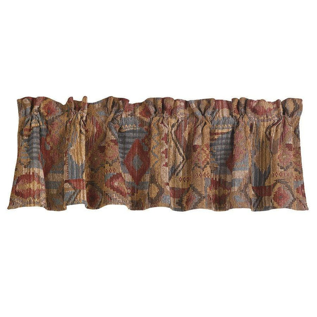 Ruidoso Southwest Patchwork Kitchen Valance