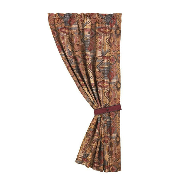 Ruidoso Patchwork Single Panel Curtain w/ Tieback