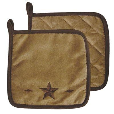 Rustic Star Pot Holder