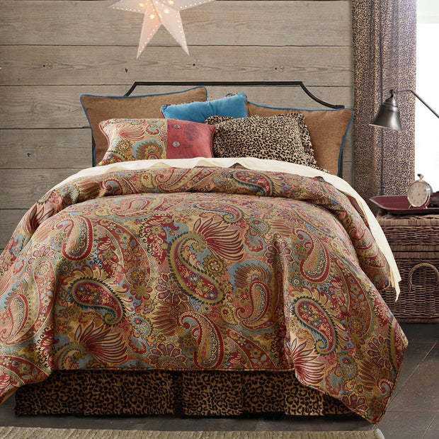 San Angelo 4-PC Comforter Set, Leopard