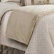 Sand Velvet Duvet Cover (Super King/Queen)