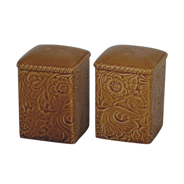 Savannah Salt & Pepper Shaker Set, Mustard