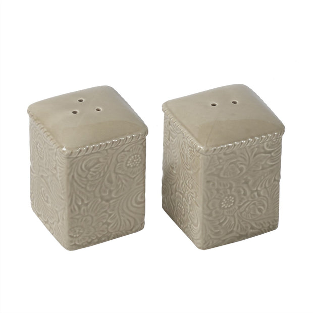 Savannah Salt & Pepper Shaker Set, Taupe