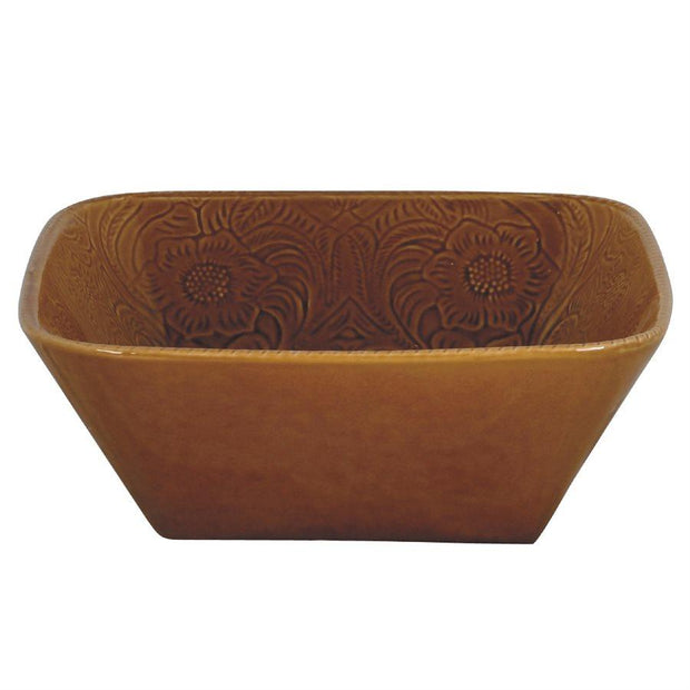 Savannah Serving Bowl, Mustard (EA)