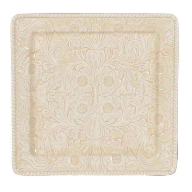 Savannah Serving Platter, Cream (EA)