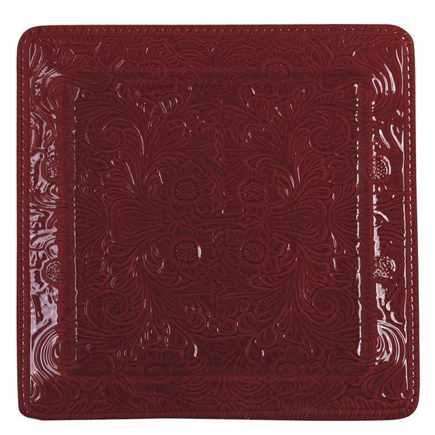 Savannah Serving Platter, Red (EA)
