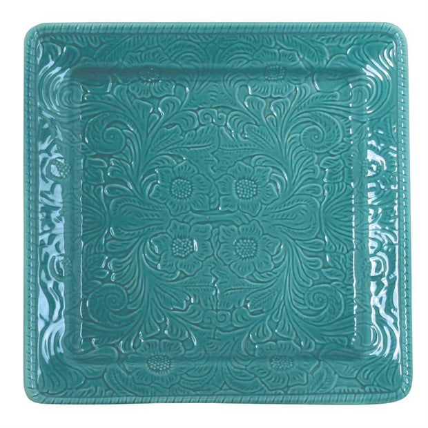 Savannah Serving Platter, Turquoise (EA)