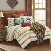 Serape 3-PC Rustic Stripe Comforter Set