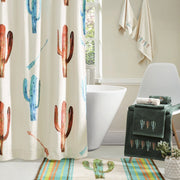 Serape Colorful Cactus Kitchen/Bath Rug
