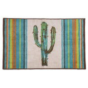Cactus 9 PC Bath Accessary and  Cream Towel Set