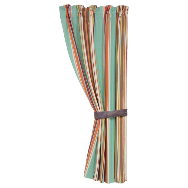 Serape Southwestern Rod Pocket Curtain Panel