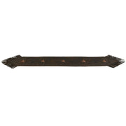 Laredo Chocolate Table Runner w/ Stars
