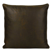 Sierra Chocolate Red Reversible Euro Sham