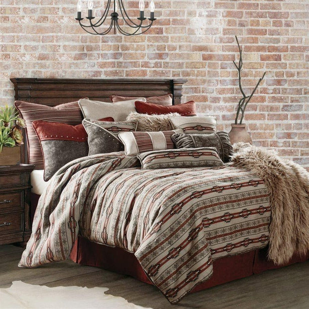 Silverado 4-PC Comforter Set, Super Queen