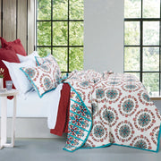 Sonora 3 PC Reversible Cottage Quilt Set