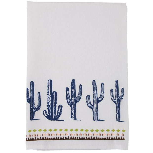 Southwest Cactus Border 5-PC Tea Towel Set