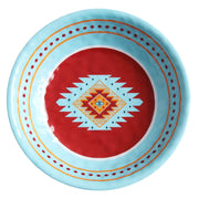 Southwest Motif 14-PC Melamine Dinnerware Set