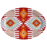 Southwest Motif 24-PC Melamine Dinnerware Set