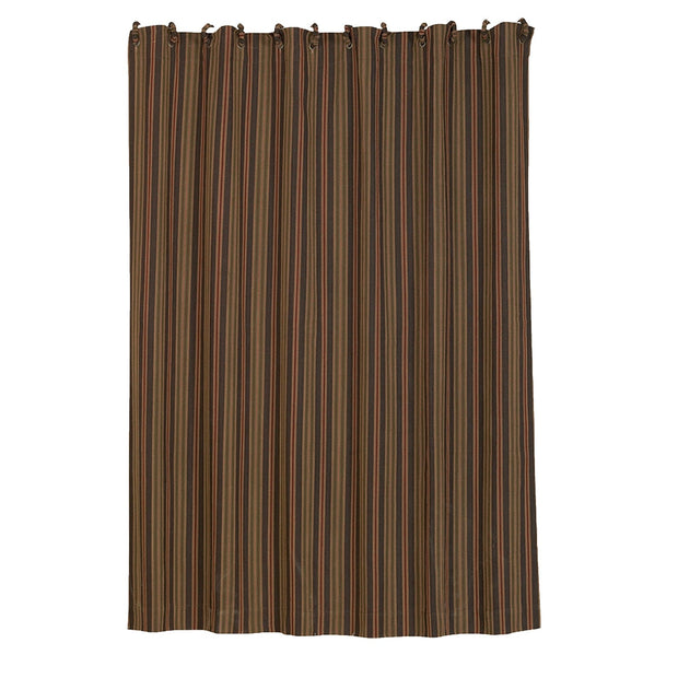 Wilderness Ridge Shower Curtain, Herringbone Stripe