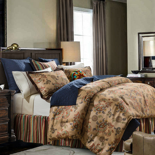 Tammy Western Paisley 3-PC Comforter Set