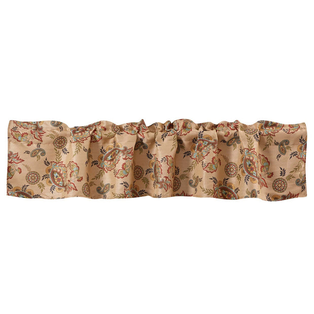 Tammy Paisley Kitchen Valance