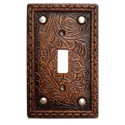 Tooled Resin w/ Stud Single Switch Wall Plate
